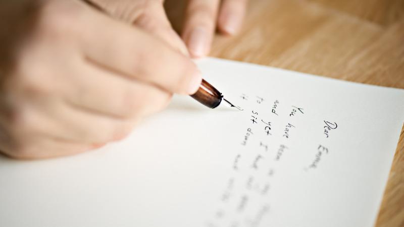 ブログタケの手紙とメッセージ