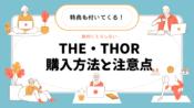 THE・THORの購入方法とダウンロードにおける注意点